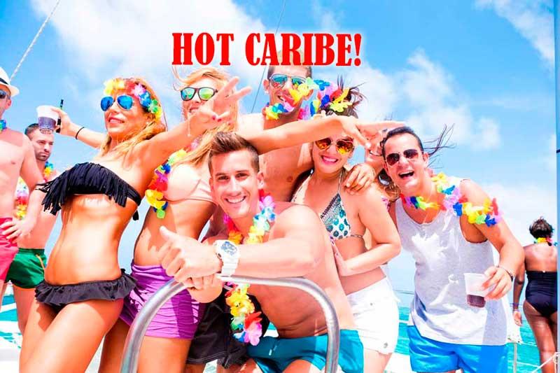 Fiesta temática Hot Caribe