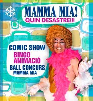 Fiesta temática Mamma Mia