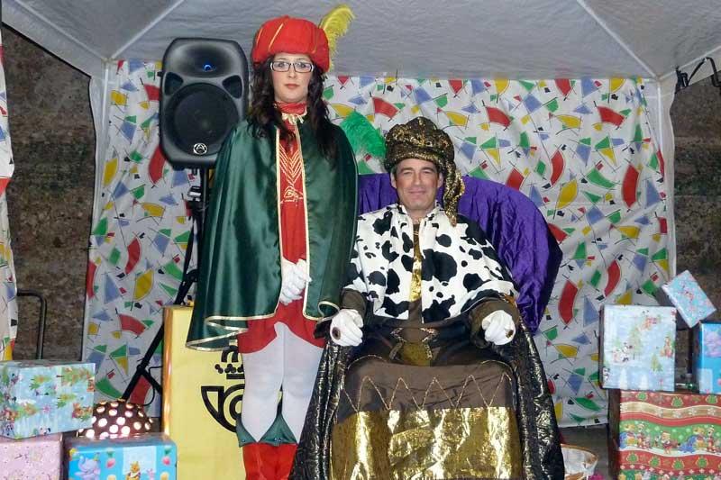 Paje Real animación Reyes Magos
